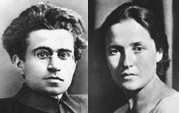 Antonio Gramsci and wife Julia Schucht