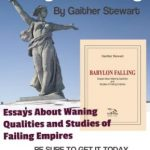 Babylon Falling, latest title by Gaither Stewart